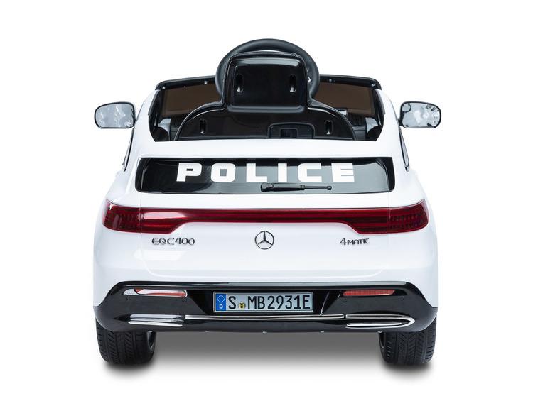 Elektriauto MERCEDES BENZ EQC POLICE VALGE
