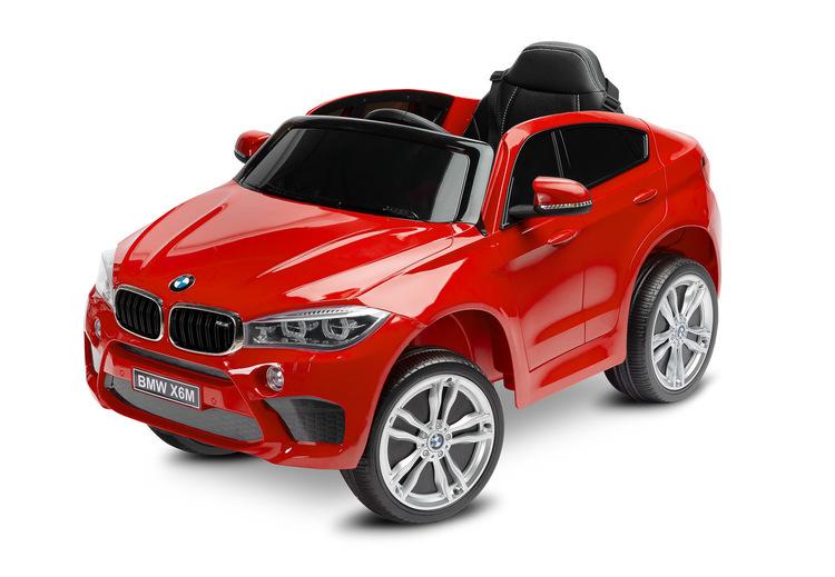 TOYZ ELEKTRILINE SÕIDUK BMW X6 PUNANE