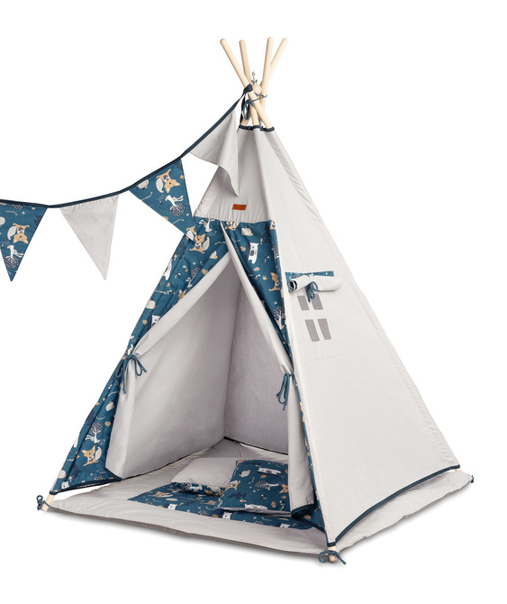 NAVY BLUE TIPI TELK