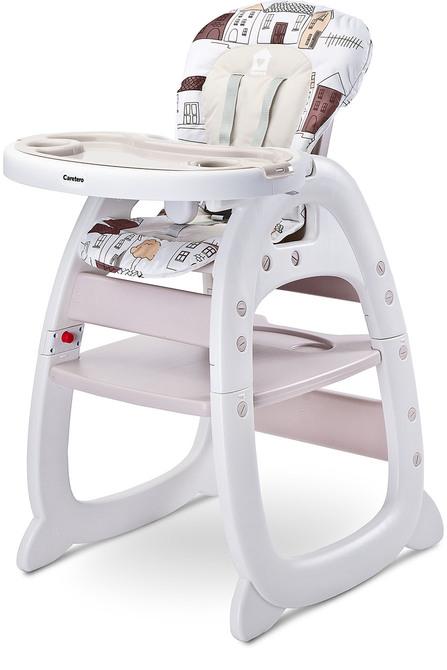 Söögitool 2 in 1 BEIGE Laud ja tool