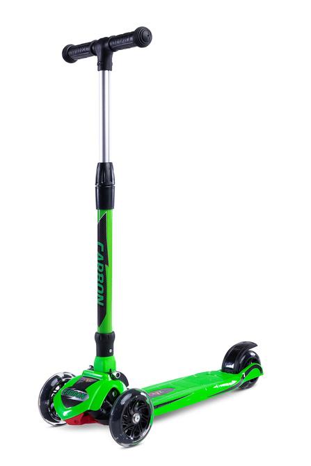 3-rattaline tõukeratas roheline