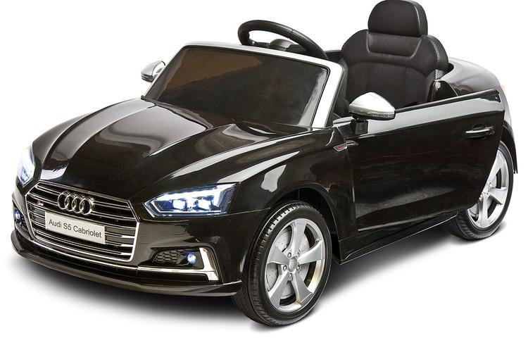 Laste elektriline sõiduk AUDI S5 MUST