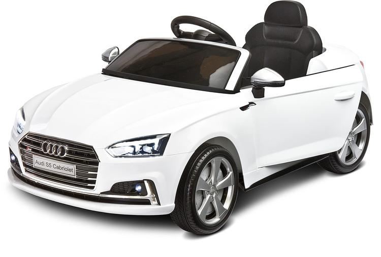 Laste elektriline sõiduk AUDI S5 VALGE